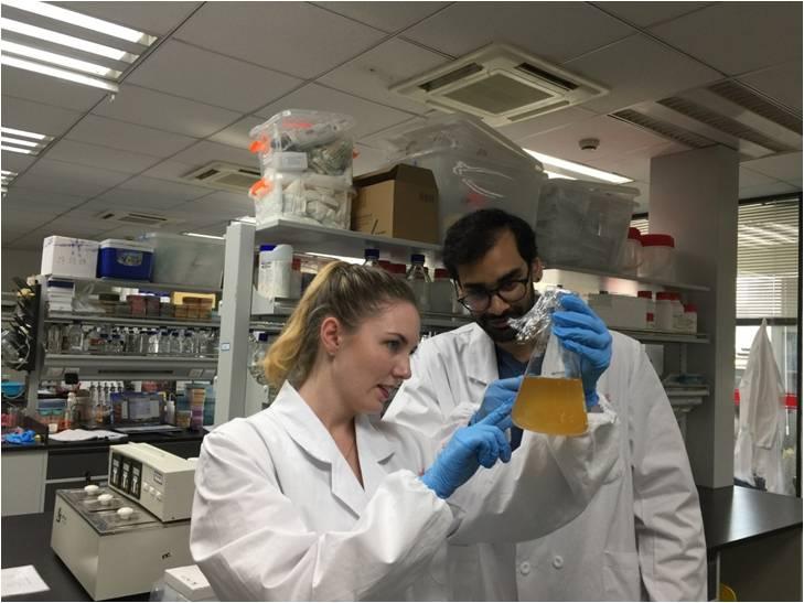 渥太华大学研究生来我院进行科研合作和交流